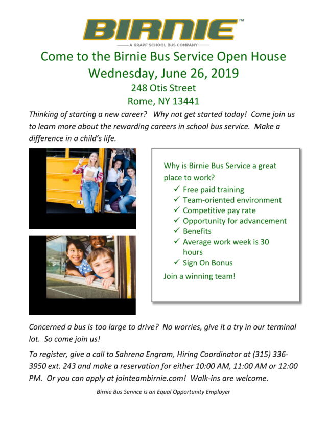 Birnie Bus Open House | Working Solutions